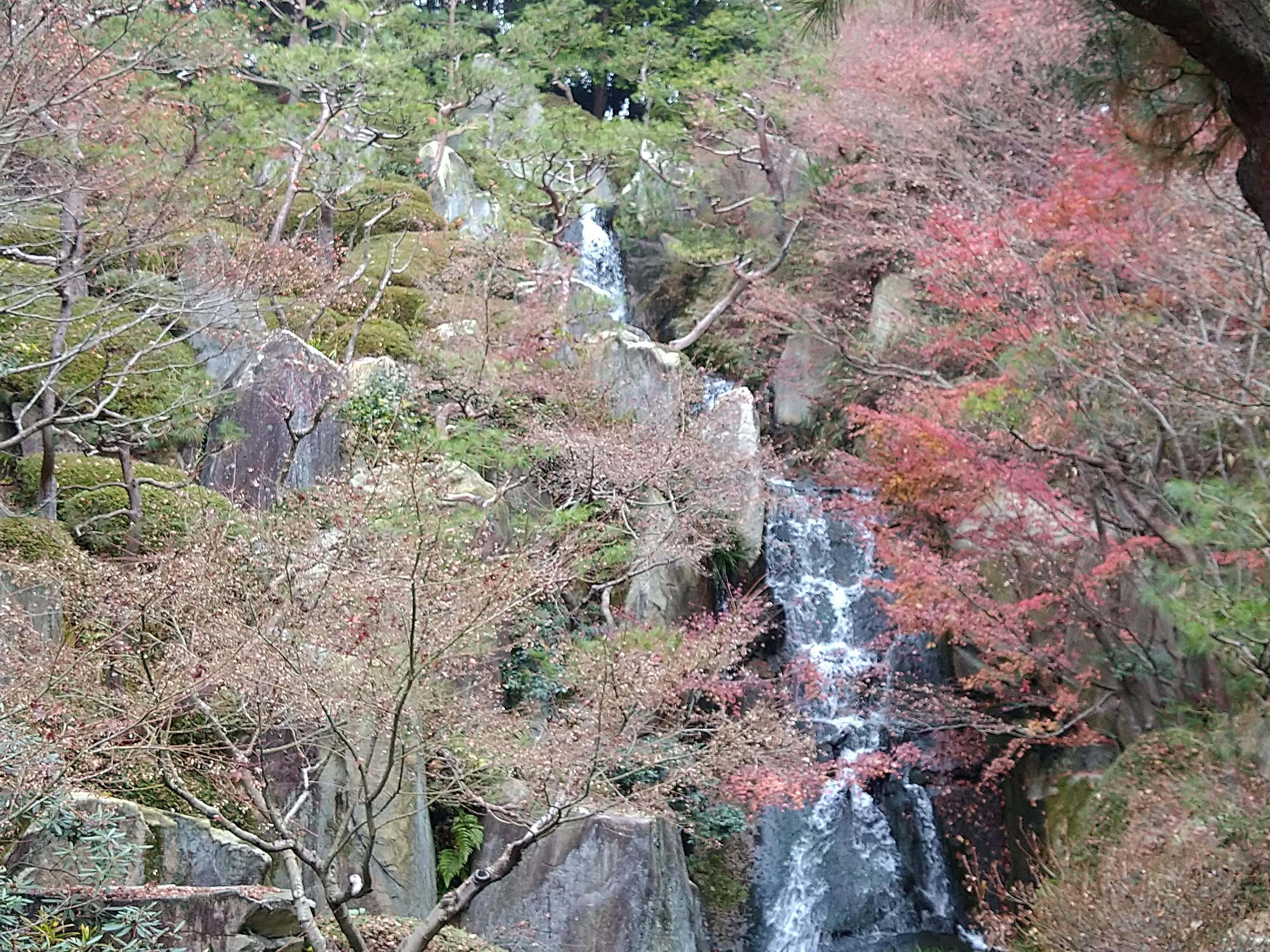 三景園 三段の滝